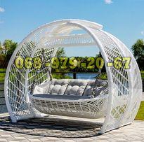 Качеля садовая Marou KRESLOROTANG. Производство VIP мебели из ротанга.