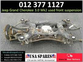 Jeep Grand Cherokee 3.0 WK2* 2011-19 used front suspension for sale