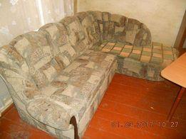 Угловой диван + кресло продажа.