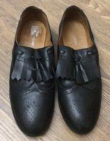 Мужские кожаные туфли(лоферы) Hush pupples