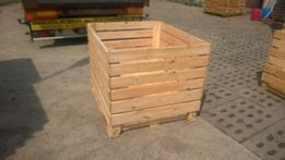 Skrzyniopalety drewniane ażurowe120x100x90 cm na ziemniaki,marchew