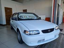 2002 Toyota Tazz 160i Sport with ONLY 160000kms