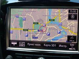 Установка самых свежих карт MMI 3G, RNS-850