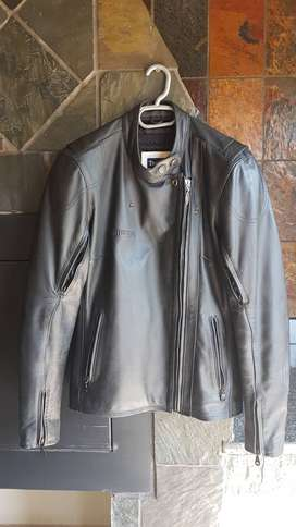 Triumph Ladies bike leather jacket.