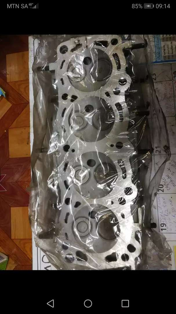 Nissan Sentra box shape reconditioned cylinder head 0