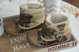 Zimowe ocieplane buty, kozaki chłopięce McArthur rozmiar 27