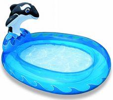 """Брызгающий бассейн для детей """"Кит"""""""