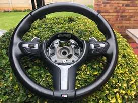 Bmw steering wheel with paddle shift without airbag