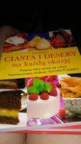 Książka z przepisami na desery