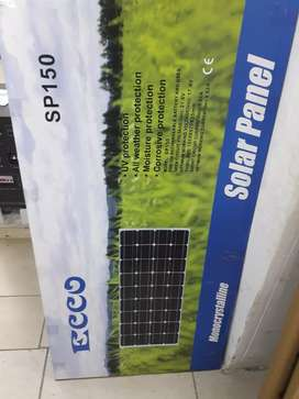 150watts Solar panel for only R1380 brand new