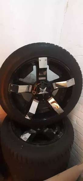 """20"""" MAGS & TYRES 6 HOLES"""