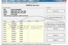 Авторизация BMW FEM/BDC для программатора автоключей Xhorse VVDI2