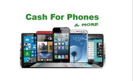 we buy Mobile phones and Laptops