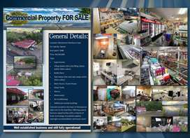 Large Retail Business & Property For Sale