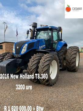 2016 New Holland T8.360