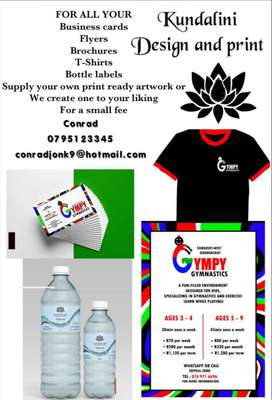 Digital print and design, purified bottled water