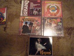 CD диск МР-3.Кино.Алиса.Крематорий.Звуки Му.Пикник.Мираж.Nazareth