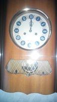 Часы механические с боем настенные Янтарь