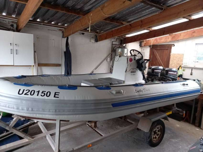 4.5m inflatable boat for sale