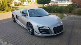 Audi R8 Spyder for hire  Matric Farewell / Weddings / Events