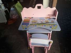 Kids activity desk and chair