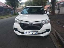 TOYOTA AVANZA WITH AN ENGINE CAPACITY OF 1,5