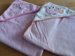 Ręczniki dla maluszka plus pokrowiec na przewijak