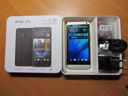 Новый HTC One M7 Silver (Black)2/32GB оригинал 1 micro-SIM