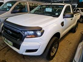 `2016 Ford Ranger 2.2TDCI Singlecab-FSH-Highway Milage-Only R189900