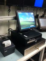 POS термінал Elo HP (пос терминал, система, сенсорный монитор бар кафе