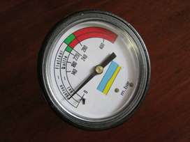 Air-pressure meter for inflatable boat, rubberduck, dinghy, Zodiac