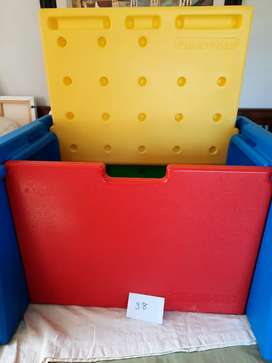 Toy box and desk