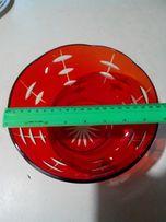 Салатник цветное стекло