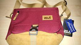 Шикарная плечевая сумка Jack Wolfskin. 100% оригинал из Германии!
