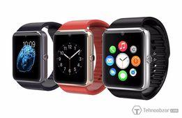 Распродажа!! Смарт часы телефон GT 08 ( sim +micro SD) НОВЫЕ!