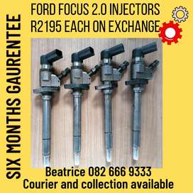Ford focus 2.0 injectors for sale