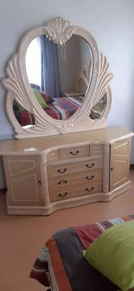 Dressing Table & Headboard