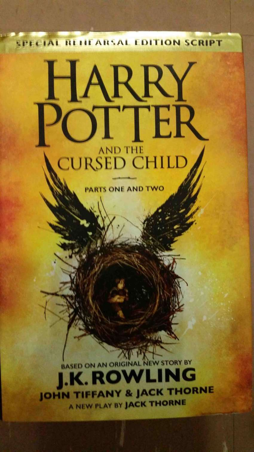 Harry Potter and the Cursed Child - J.K. Rowling [Part 1 + 2] 0