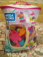 Конструктор Mega Bloks для девочек (Fisher Price) 55 деталей