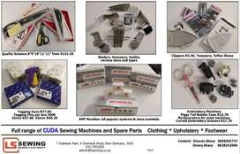 Sewing consumables and spare parts. Suppliers to PPE manufacturers.