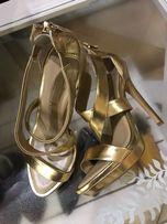 Продам золотые туфли BCBG Max Azria 37р