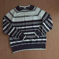 Świetny bawełniany sweter męski Reserved M nowy