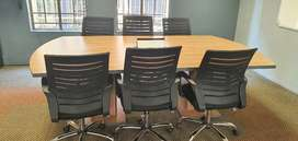 Boardroom Table and Pivot Power Box