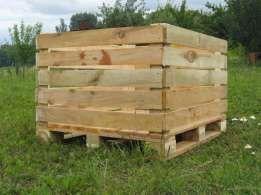 контейнер деревяний