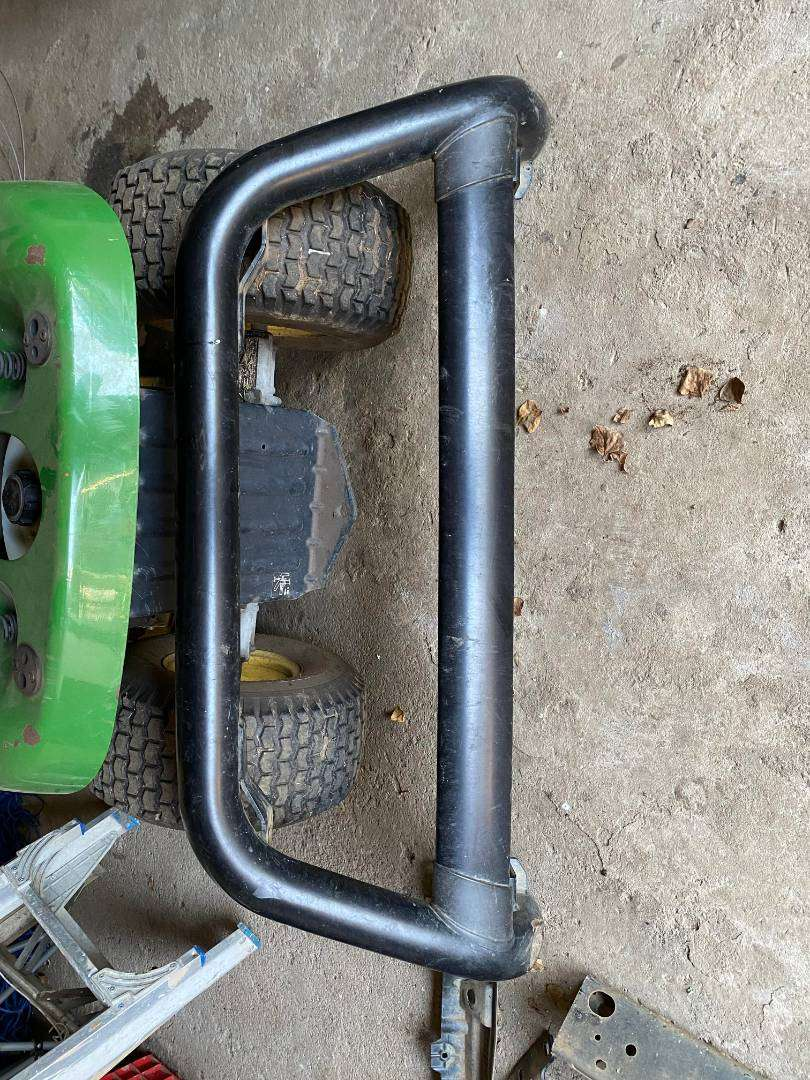 Toyota Hilux Nudge Bar for 2.4 GD6 2017