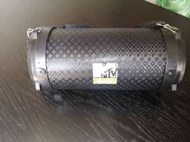 MTV base speaker. Bluetooth, USB and aux functions.