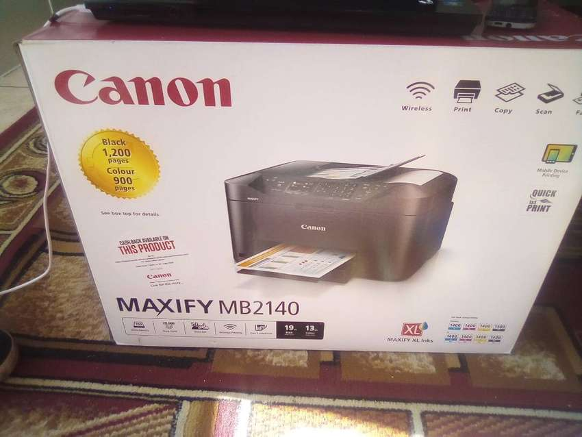 Brand New Cannon MAXIFB2140 4 in 1 Printer For Sale 0