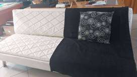 White Sleeper Couch for sale