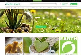 Website: Our Green World   Environmental   100+ Products