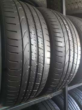 225/45/19 Pirelli run flat tyres for sale still in good condition